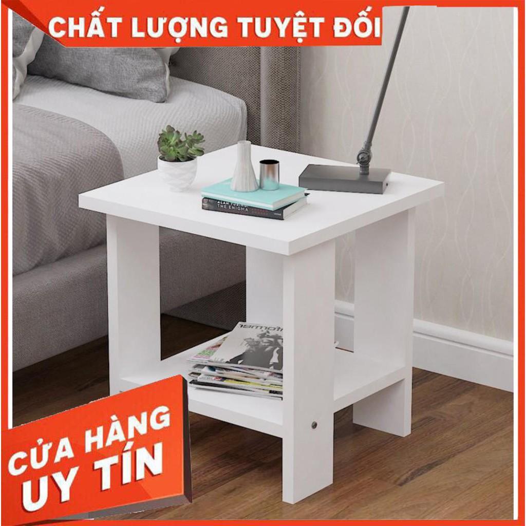 [RẺ RẺ RẺ] bàn trà sofa nhỏ ( có 3 màu trắng , đen , vân gỗ) GP23