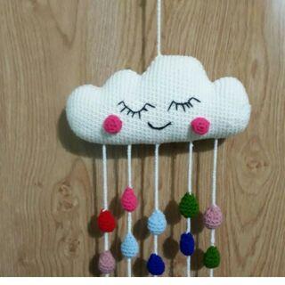 Đám mây treo nôi – handmade