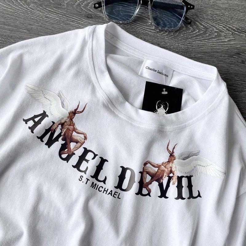 [Mã FASHIONT4MA giảm 10K đơn 50K] Siêu phẩm áo ANGEL.DEVIL