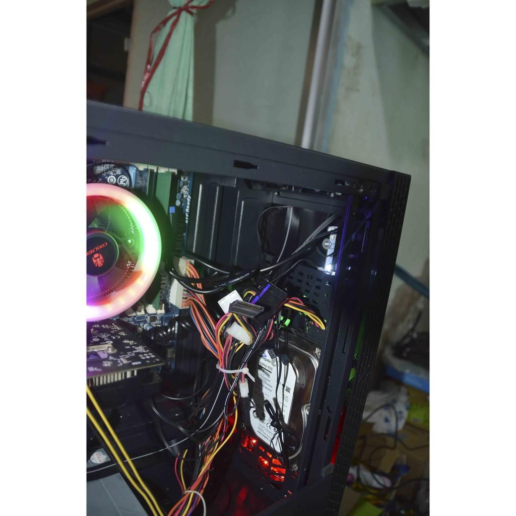 Máy tính cấu hình cao Ram 8gb, 750ti, PUBG PC mượt (Tặng thùng trong suốt kính cường lực)