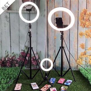 [FREESHIP]- Bộ đèn livestream size 33cm kèm chân cao 2m B&T