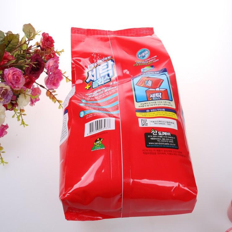 [Chỉ dùng cho máy giặt cửa trên] Bột giặt Sandokkaebi 5kg (Nhập khẩu Hàn Quốc phân phối bởi Hando)