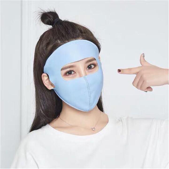 Khẩu Trang Chống Nắng Nam Nữ, Khẩu Trang Ninja Chống Tia UV Cao (Hot
