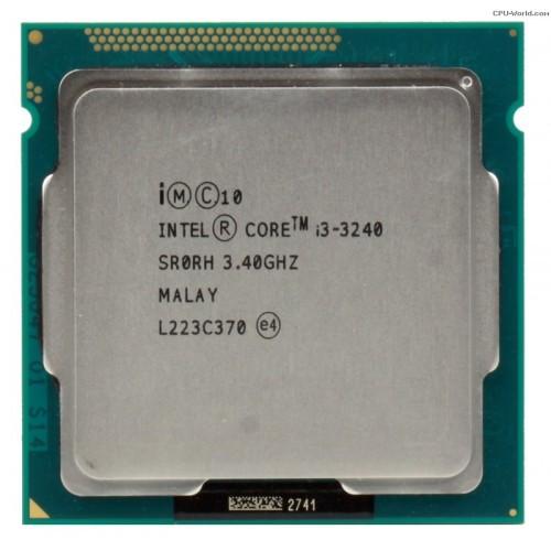 CPU Intel i3 3240 3.4Ghz.