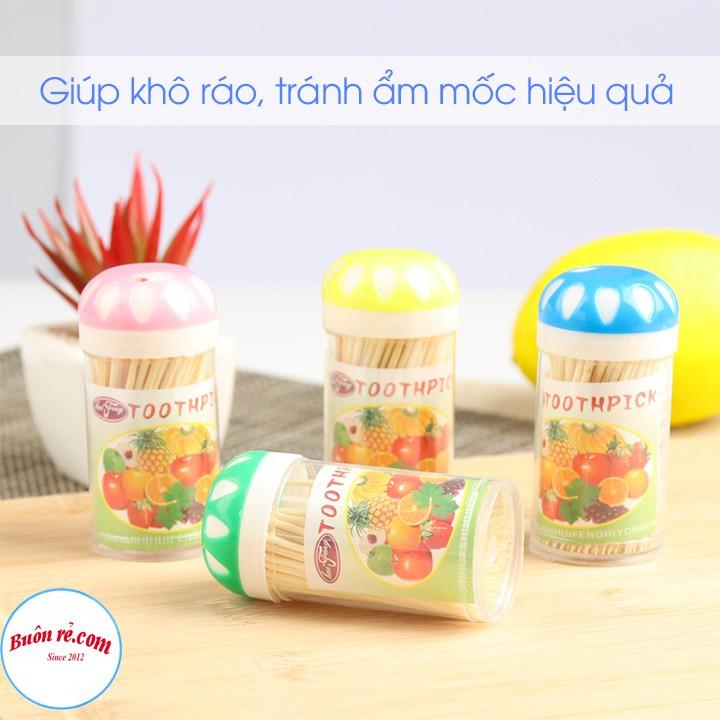 Lọ đựng tăm, tiêu cao cấp nhựa Việt Nhật (MS: 2696) - Hũ đựng gia vị tiện lợi bền đẹp, nhỏ gọn -br 01365