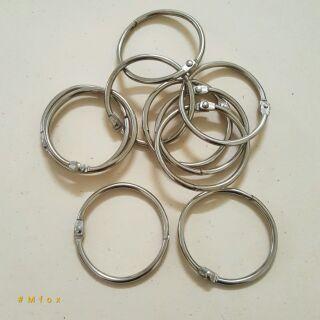 Khoen tròn inox 4cm