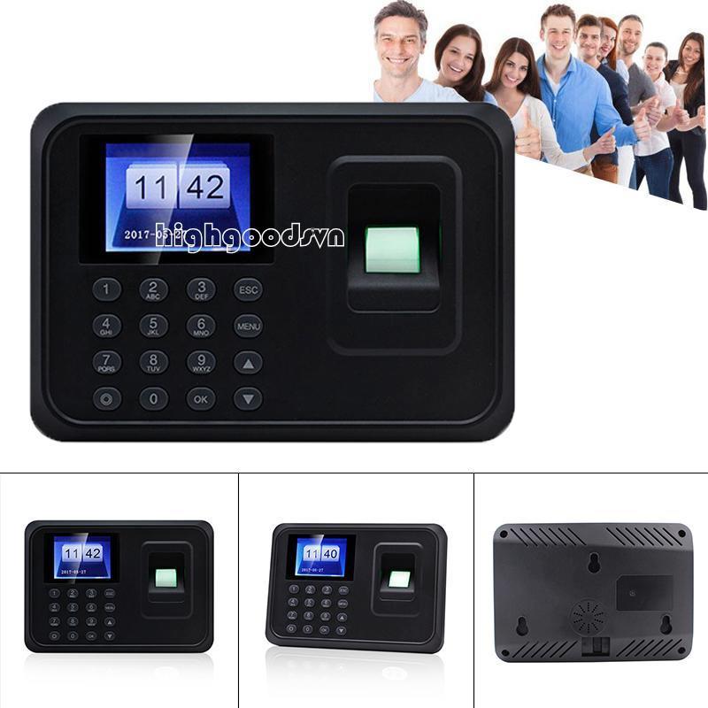 hi Fingerprint Password Attendance Machine Fingerprint Identification Drive-free Attendance Equipment Giá chỉ 379.237₫