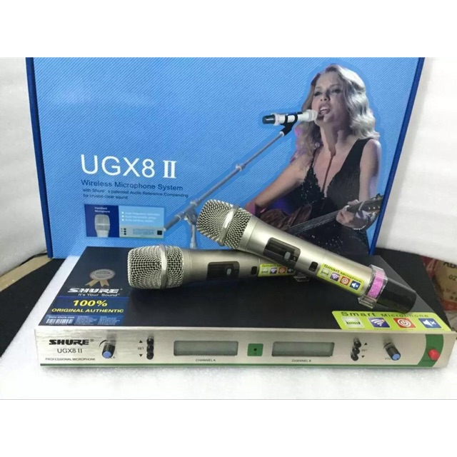Micro không SHURE UGX8ll