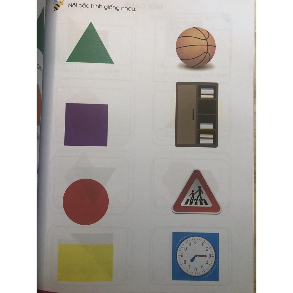 Sách - Toán Tư Duy - Dành cho trẻ em từ 5 - 7 tuổi (1 cuốn)