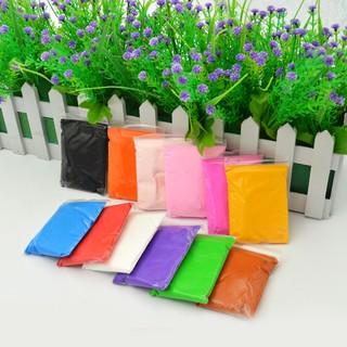 [Rẻ] Gói 12 màu đất sét Nhật soft clay nguyên liệu slime [BHS]