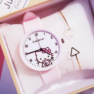 Đồng hồ trẻ em thời trang Yamino cực đẹp CandyCat DH33 hit hot thumbnail