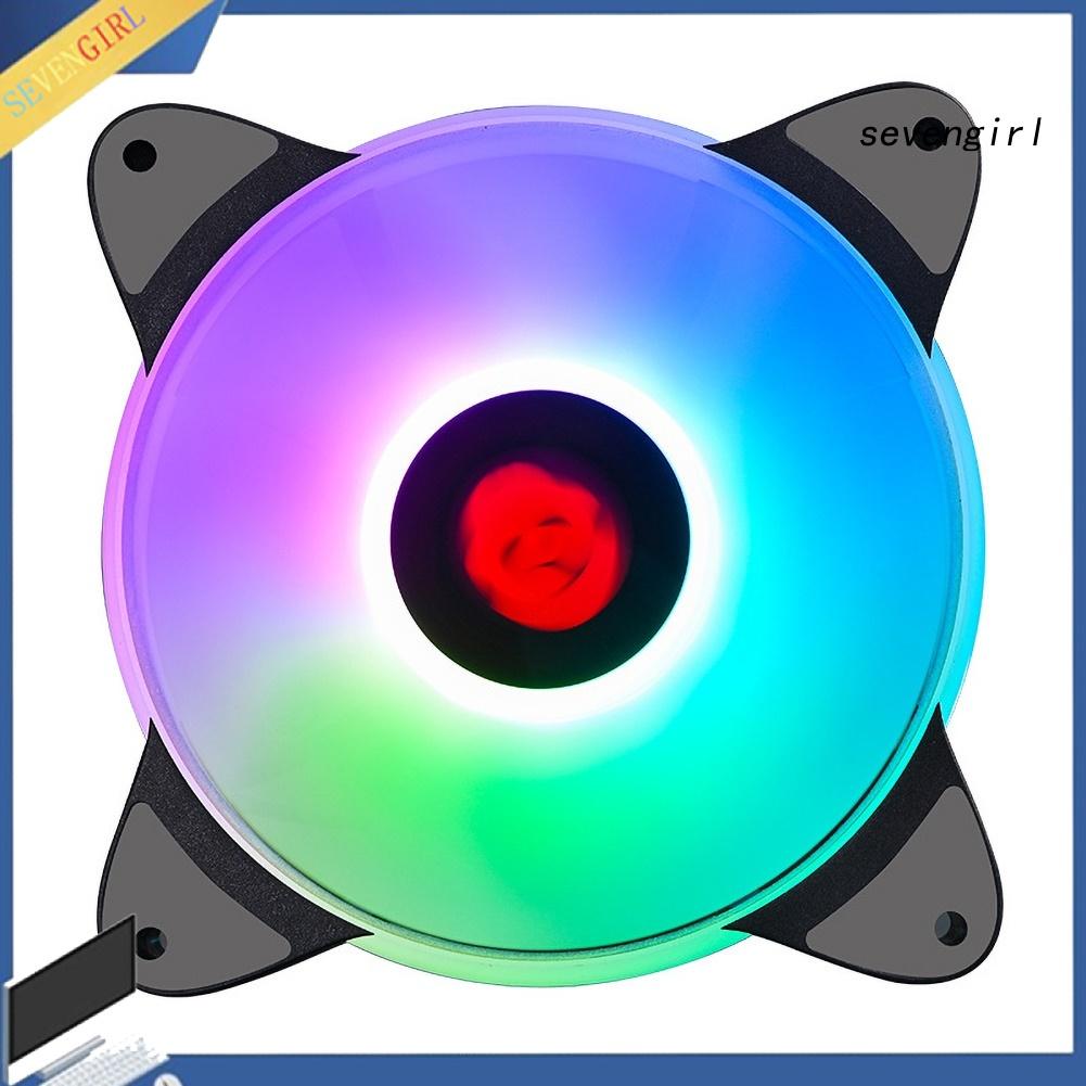 Quạt Tản Nhiệt Có Đèn Led 12cm Cho Pc Laptop