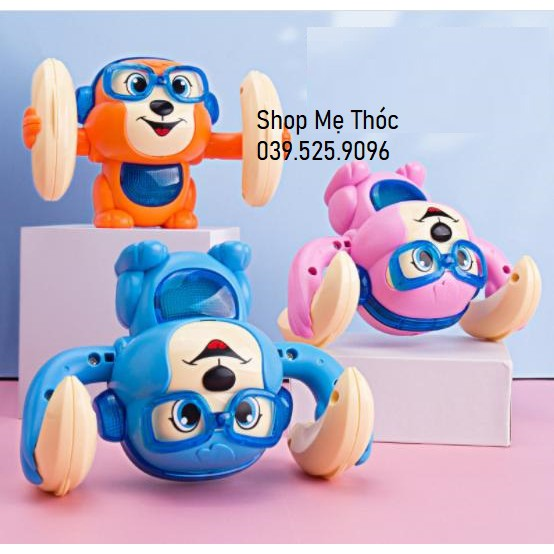(Tặng pin) Đồ chơi nhào lộn, đồ chơi giải trí cho bé, trẻ nhỏ