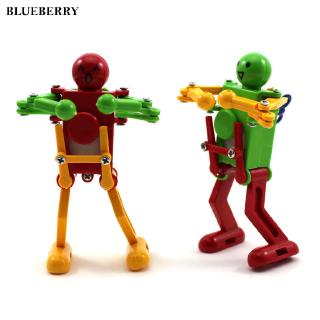 Robot Toy Dancing Children Wind Up Toy Plastic Kids Cute Wonderful