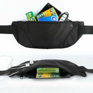 Túi đeo thắt lưng thể thao chống nước có khóa kéo tiện dụng