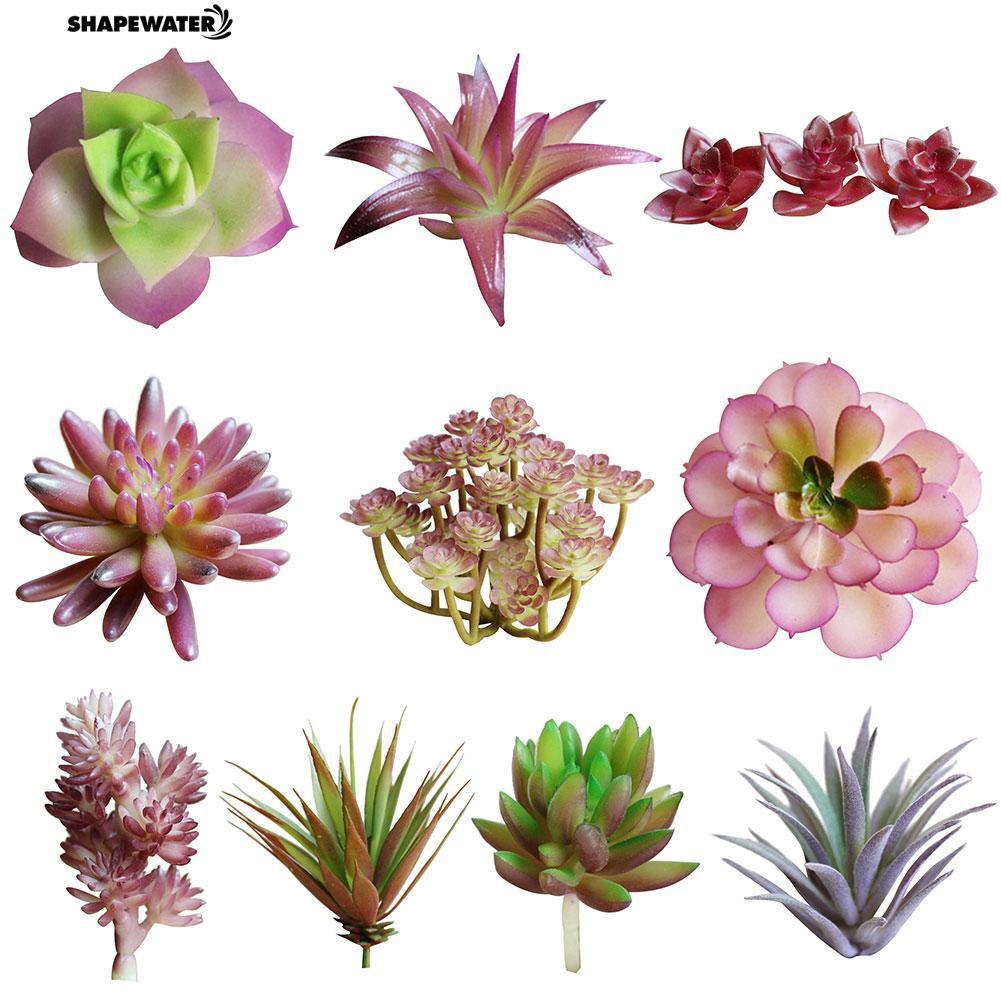 ☀1Pc Artificial Flower Succulent Plant DIY Home Desktop Bonsai
