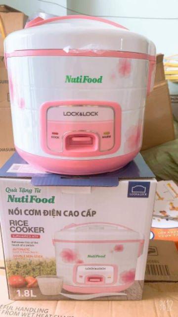 NỒI CƠM ĐIỆN LOCK&LOCK<br>Hkm của NUTI<br>Giá chỉ #320k/ c