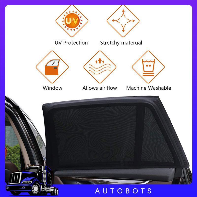 ❤Julian Auto Parts Windshield Sunshade 2pcs Auto Sun Visor Car SunShade Large