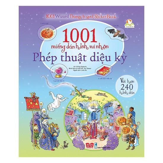 1001 Miếng Dán Hình Vui Nhộn - Phép Thuật Diệu Kỳ