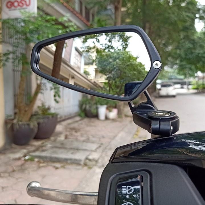 Gương xe máy Sh lắp chân gương, gương Thái Lan cao cấp (1 chiếc)