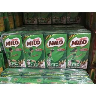 Lốc 4 hộp sữa milo 115ml