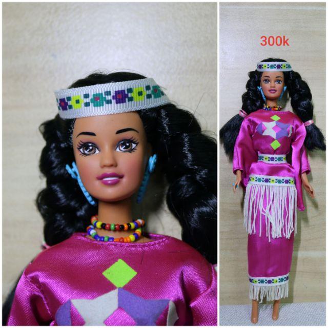 Búp bê barbie dolls of the world vintage