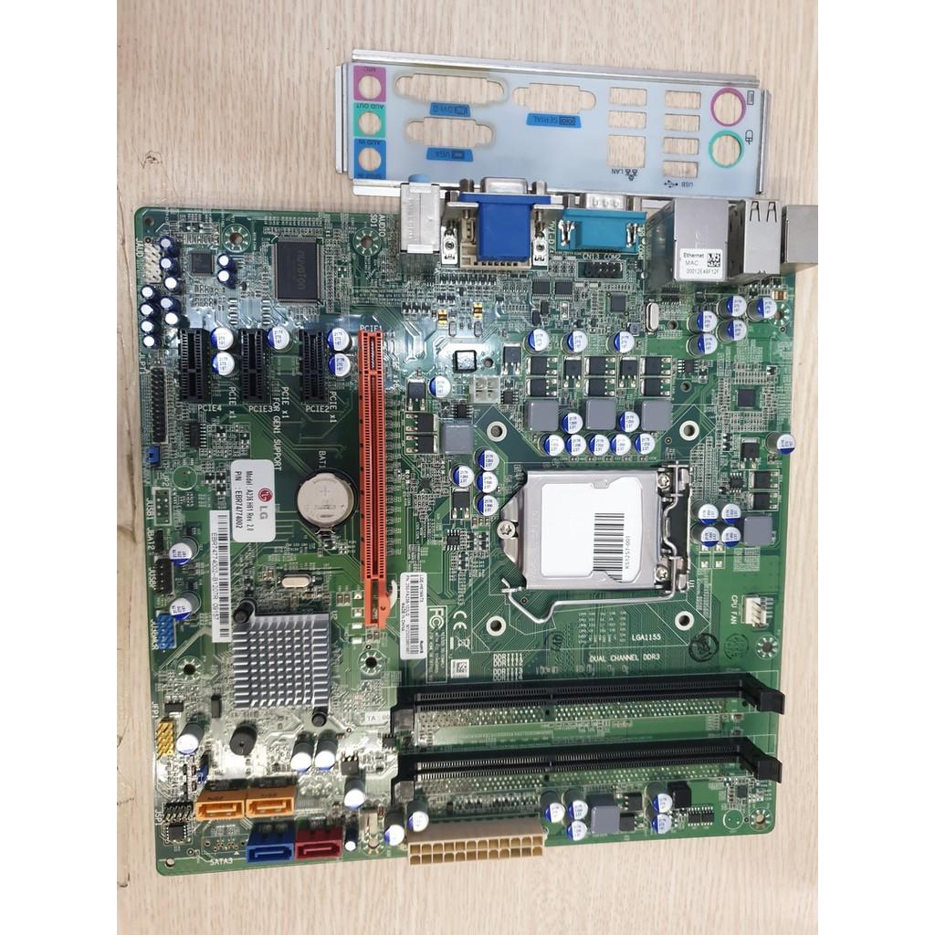 Hàng mới về - Mainboard LG H61 Hàng Siêu Bền - Siêu Mượt - Hỗ Trợ Full CPU, VGA, UEFI Boot