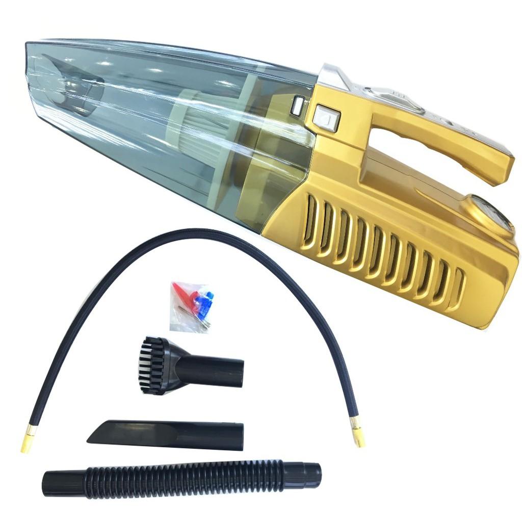Máy hút bụi đa năng kiêm bơm lốp, đèn pin 4 in 1 (Vàng) - 3434781 , 624675001 , 322_624675001 , 350000 , May-hut-bui-da-nang-kiem-bom-lop-den-pin-4-in-1-Vang-322_624675001 , shopee.vn , Máy hút bụi đa năng kiêm bơm lốp, đèn pin 4 in 1 (Vàng)