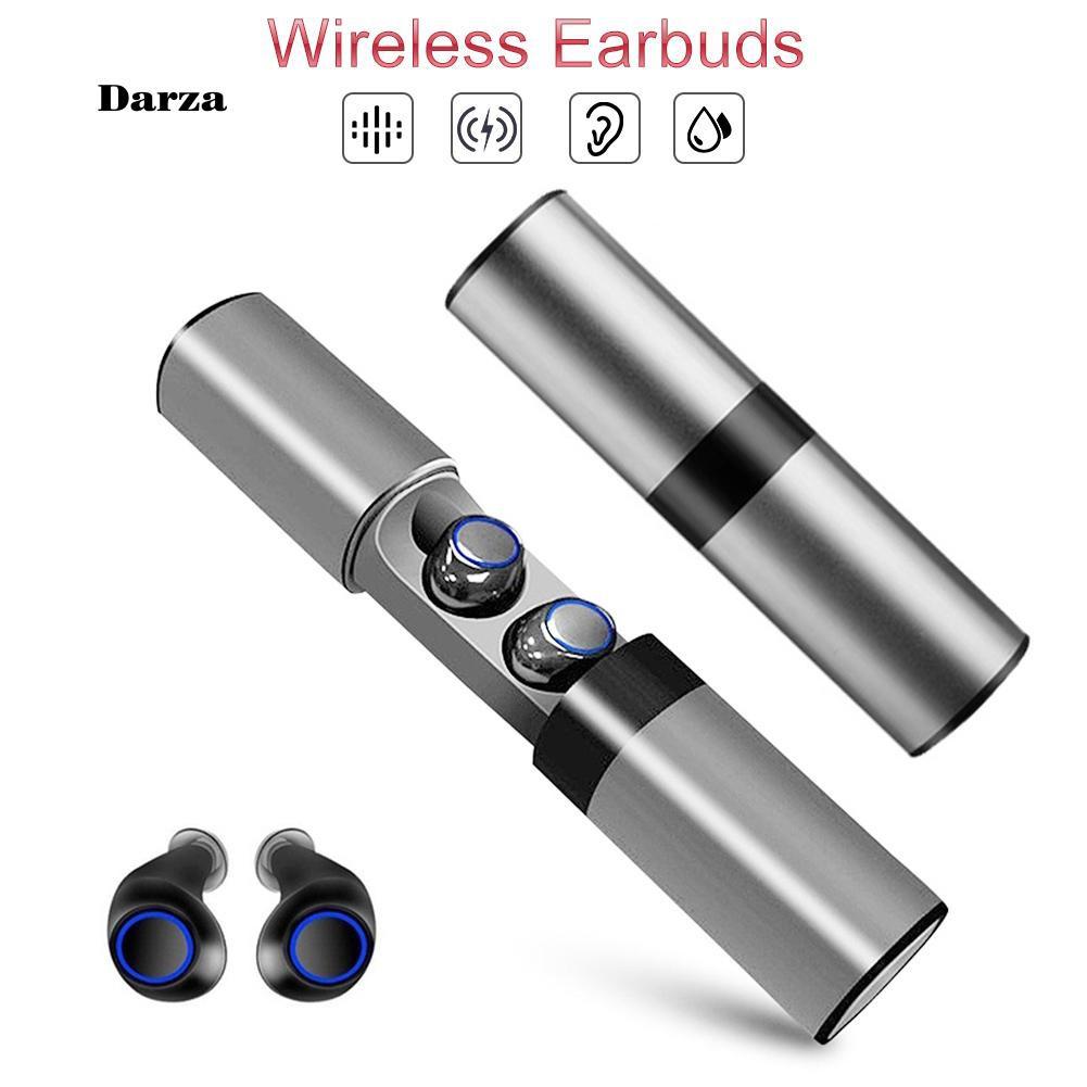 Tai nghe Bluetooth không dây chống nước có hộp sạc