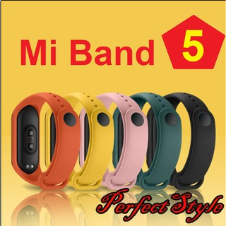 Dây Đeo Cao Su Thay Thế Cho Xiaomi Mi Band 5, Mi Band 5 NFC Dây 10k thumbnail