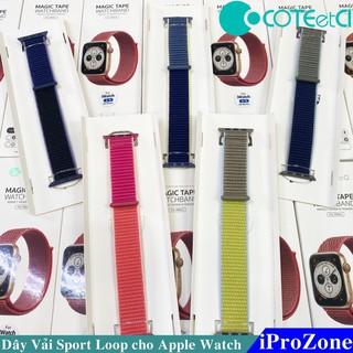 Dây vải Sport Loop Apple watch Series 5 chính hãng COTEetCI Đủ Size , mầu sắc mới