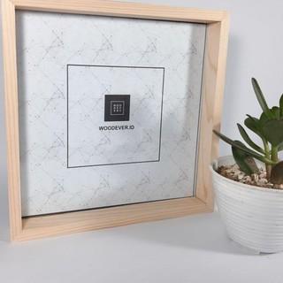 Khung Ảnh Gỗ Acrylic 23×23 cm Tối Giản Trang Trí Nhà Cửa