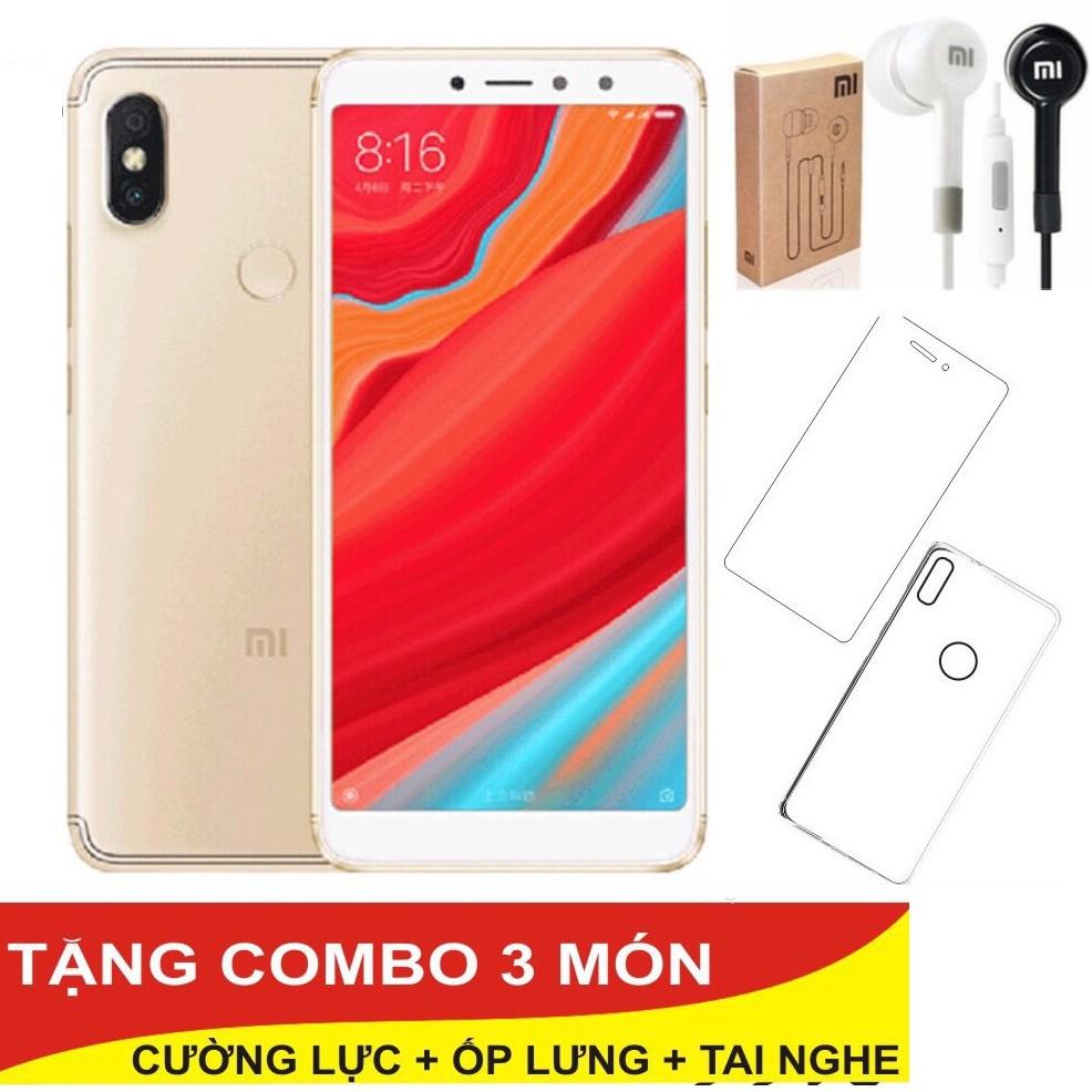 Combo Điện thoại Xiaomi Redmi S2 32GB Ram 3GB + Ốp lưng + Cường lực + Tai nghe - Hàng nhập khẩu - 2934502 , 1180912348 , 322_1180912348 , 3480000 , Combo-Dien-thoai-Xiaomi-Redmi-S2-32GB-Ram-3GB-Op-lung-Cuong-luc-Tai-nghe-Hang-nhap-khau-322_1180912348 , shopee.vn , Combo Điện thoại Xiaomi Redmi S2 32GB Ram 3GB + Ốp lưng + Cường lực + Tai nghe - Hà