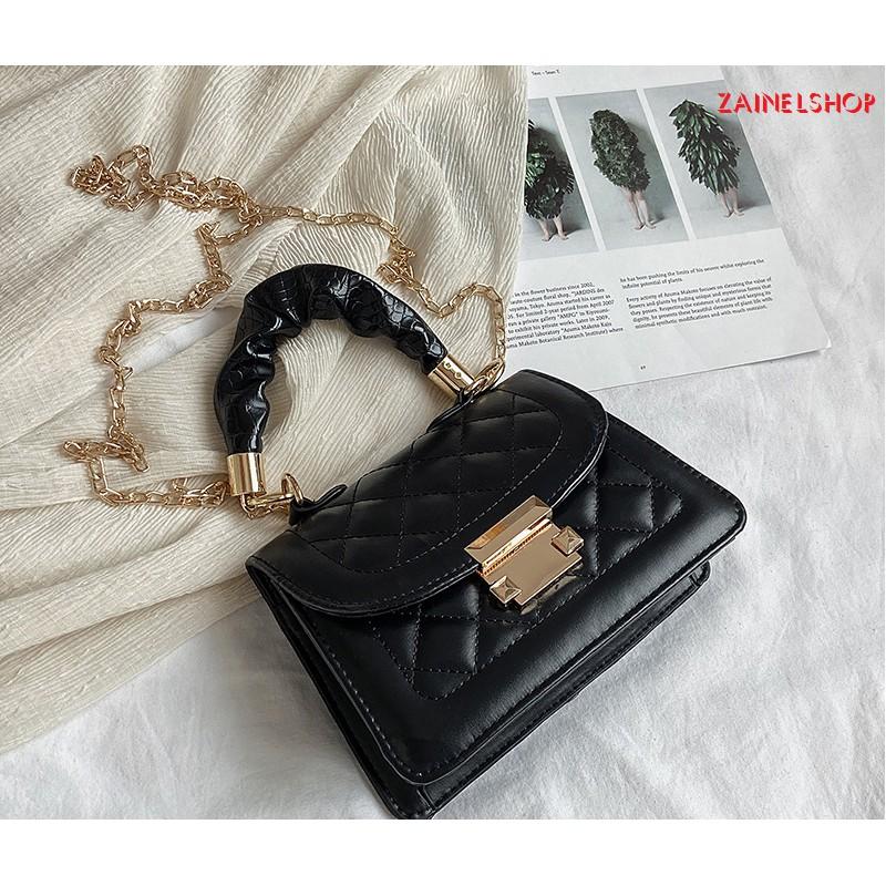 Túi xách nữ thiết kế mới 2020 kiểu dáng hình thoi hợp phong cách thời trang NET - Mã Z0017
