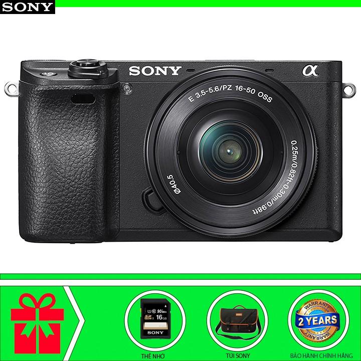 Sony Alpha A6300 Kèm Lens 16-50mm f/3.5-5.6 OSS (Chính hãng phân phối)