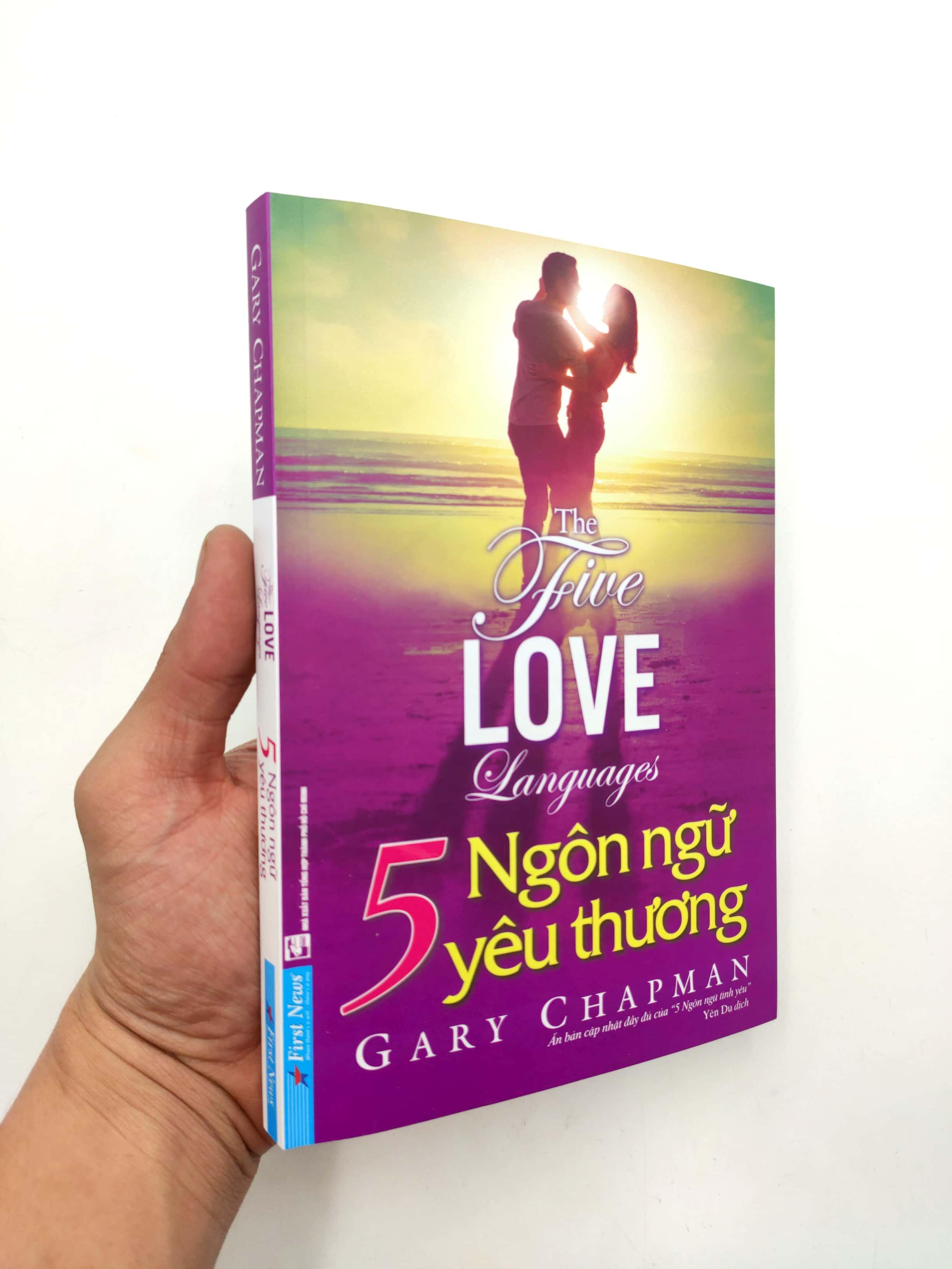 Sách 5 Ngôn Ngữ Yêu Thương - The Five Love Languages (Tái Bản 2021)