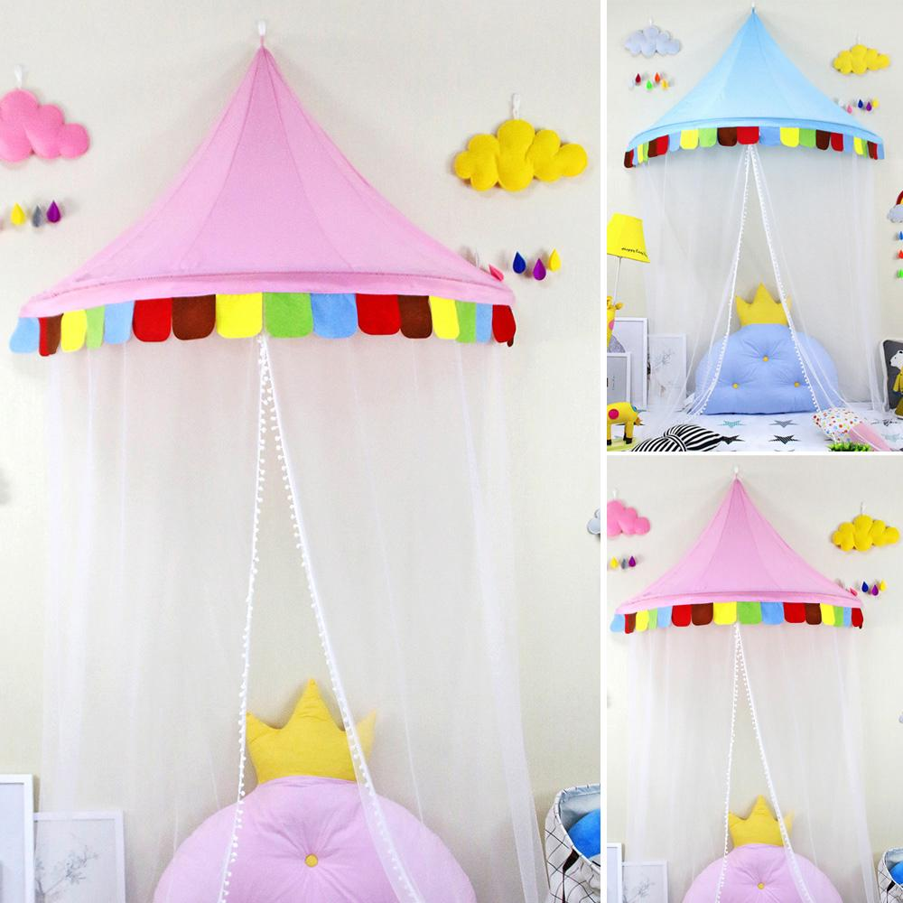 Princess Castle Play House Curtain Tent l For Kid play