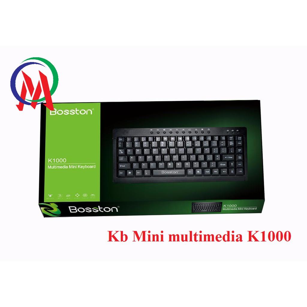 Bàn Phím Mini Multimedia K1000 - 23012040 , 1579016588 , 322_1579016588 , 65000 , Ban-Phim-Mini-Multimedia-K1000-322_1579016588 , shopee.vn , Bàn Phím Mini Multimedia K1000