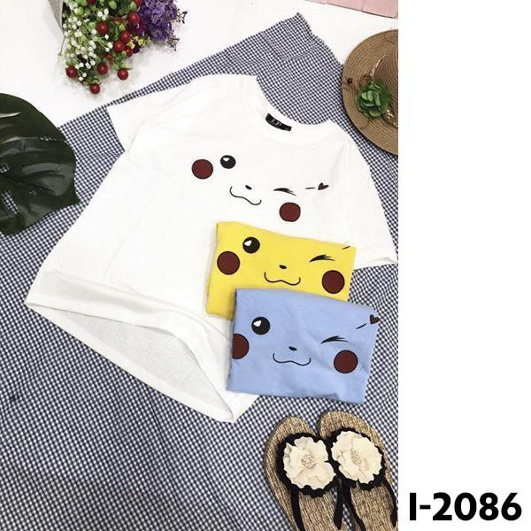 Áo thun nữ pikachu SIÊU HOT - I2086