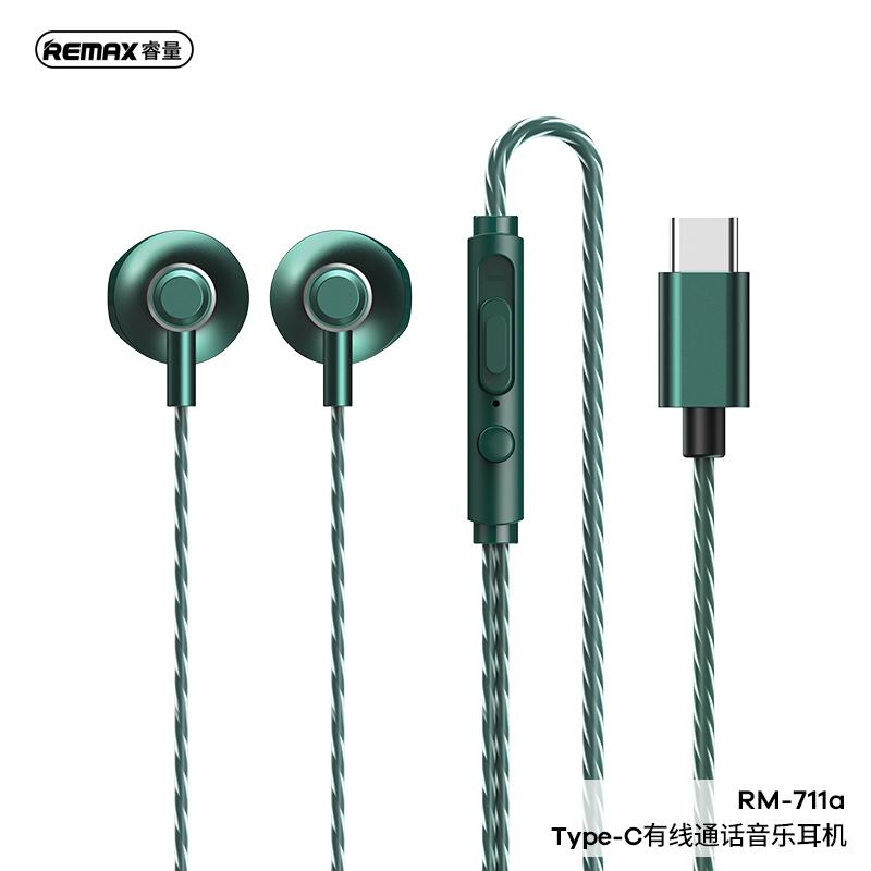 Tai Nghe Có Dây Remax Rm-711A / Type-C Rm-711A