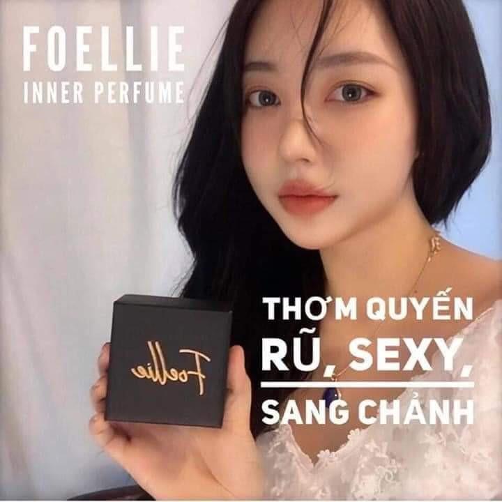Nước hoa Foellie Eau De Innerb Perfume 5ml - Bijou (chai đen) Best Seller