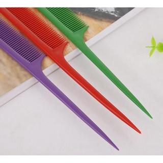 Lược Rẽ Ngôi Nhiều Màu, Salon Có Đầu Nhọn Tiện Lợi Tạo Được Nhiều Kiểu Tóc 21,5 2,5 cm 3