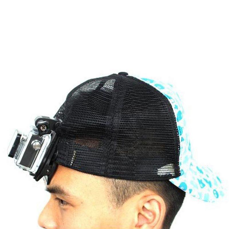 Nero Supporto Girevole 360 Quick Fix Cappello Zaino Clip Morsetto