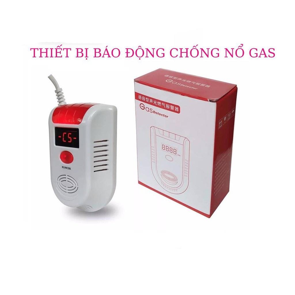 Thiết bị báo động chống nổ Gas Detector - Hàng Chuẩn - Bảo hành 6 tháng