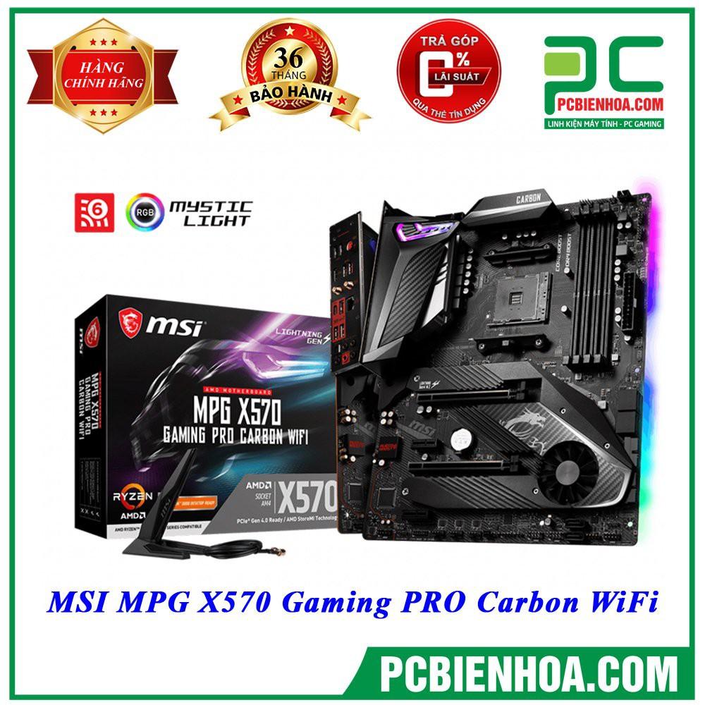 [Mã ELCLDEC giảm 7% đơn 500k]Bo mạch chủ MSI MPG X570 GAMING PRO CARBON WIFI
