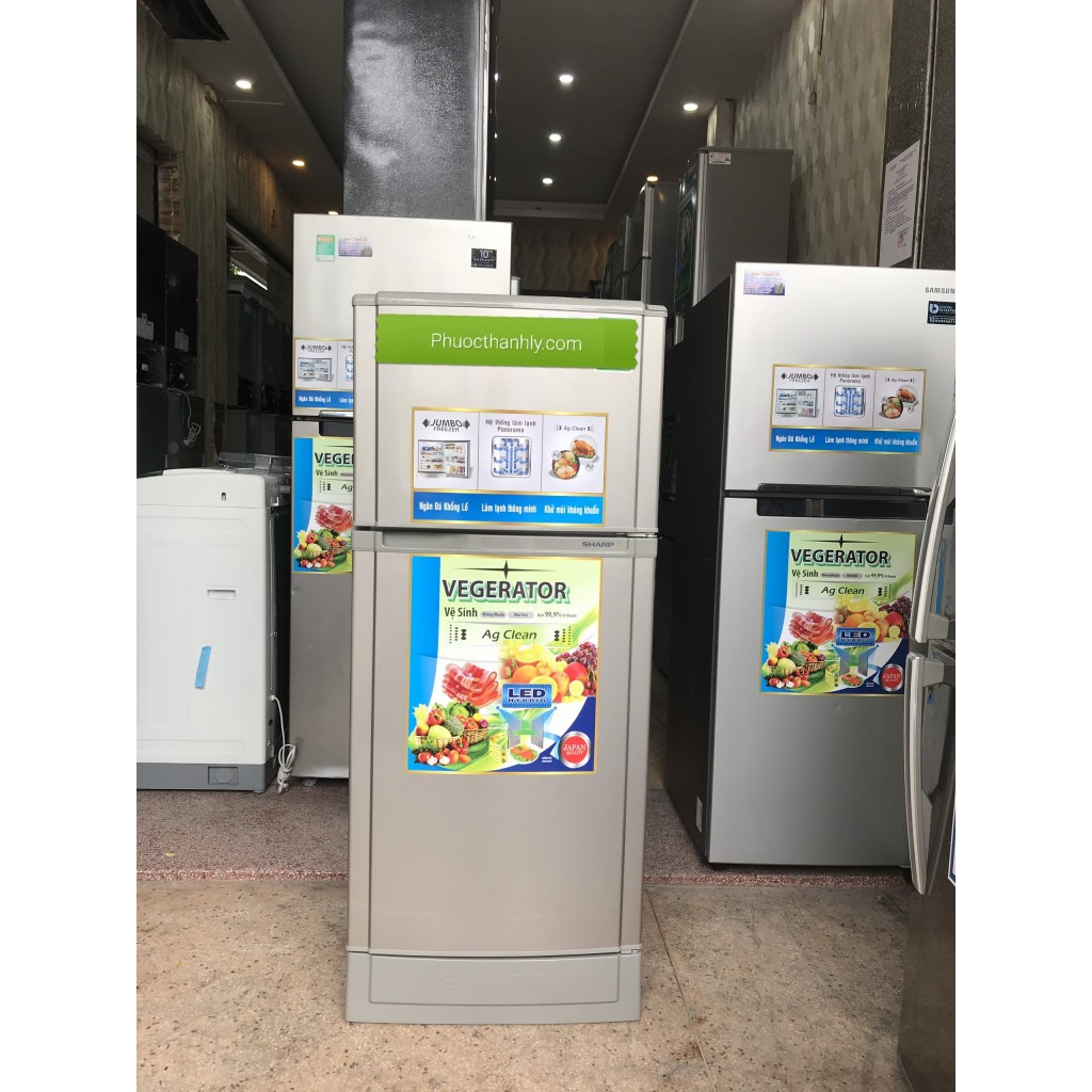Tủ Lạnh sharp 160l không đóng tuyết tại Tp Hcm