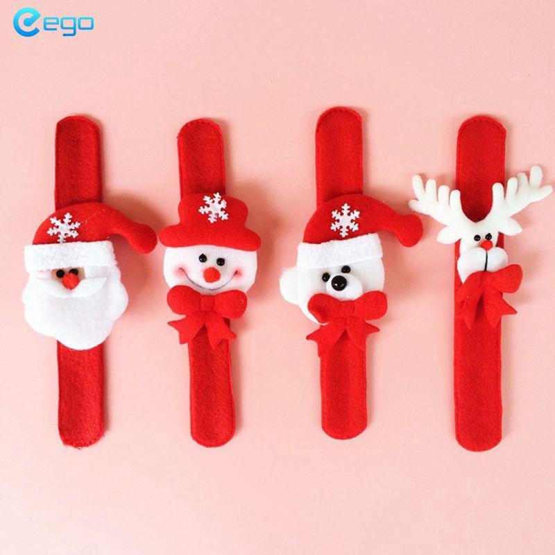 Vòng đeo tay ông già Noel Giáng sinh Người tuyết Elk Bear Đảng Giáng sinh Dây đeo cổ tay