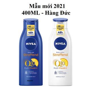 [400ML] Dưỡng thể trắng da, chống lão hóa Nivea Q10 – Hàng Đức