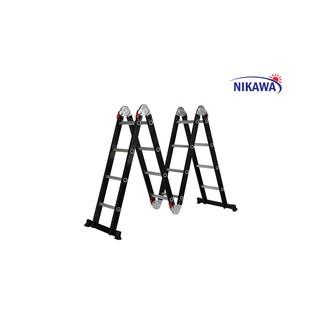 Thang Nhôm Gấp 4 Đoạn Đa Năng Nikawa NKG-44 – Sử dụng tư thế A, M, U, I – Chính hãng giá tốt nhất thị trường – BH 2 NĂM