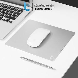 Miếng Lót Chuột Nhôm Lucas (Mouse pad) Aluminum 220x180mm thumbnail